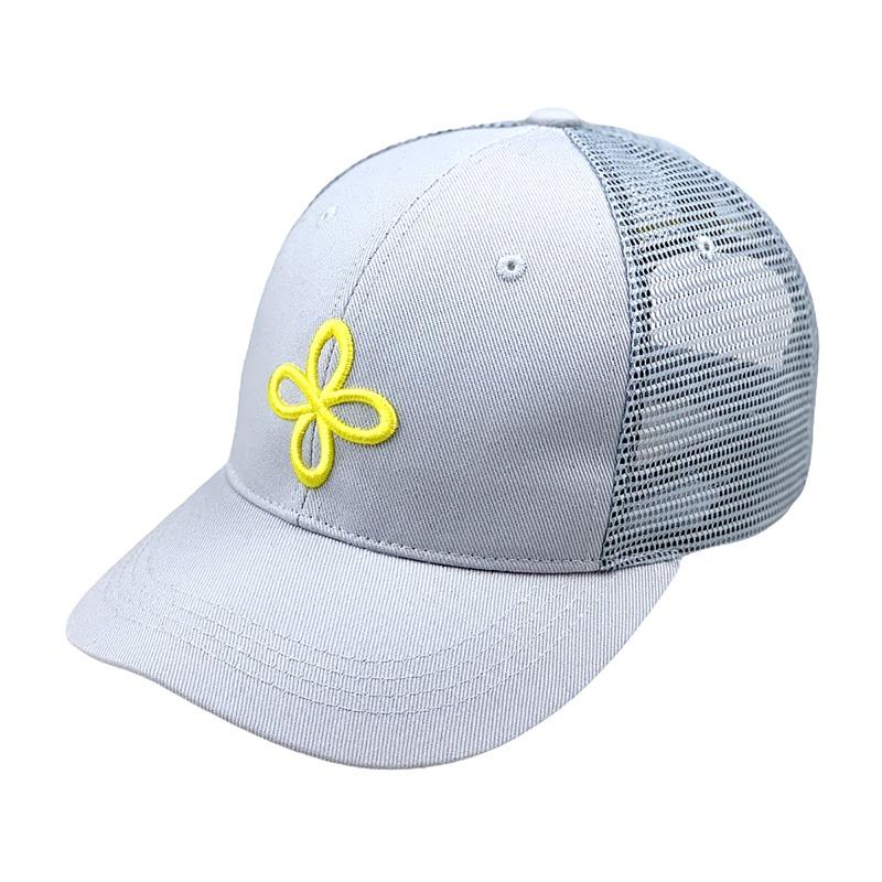 [SURGERY : 써저리] Clover logo mesh cap 'light grey'