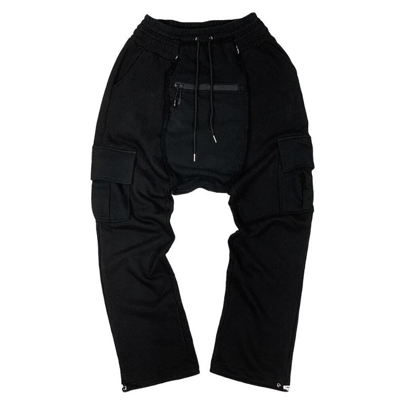 [SURGERY : 써저리] Remake saruel pants Black
