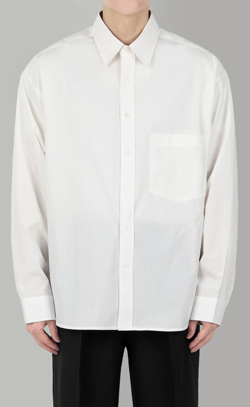 캐츠 오버핏 셔츠