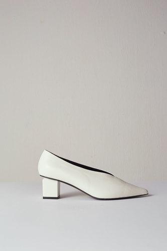 Lilas Pumps leather Ivory