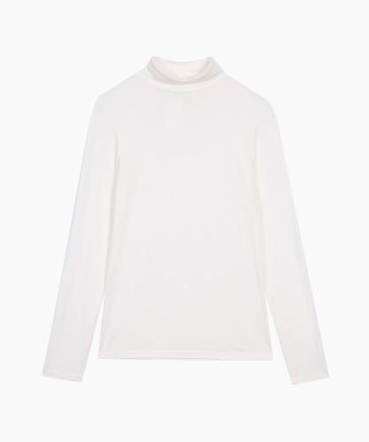 Women's Turtleneck T-Shirt [Ivory]