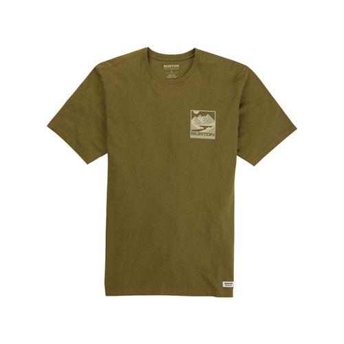 밸롭몰 BURTON 미틀러 반팔 티셔츠 Martini Olive BTIM0395, ballop