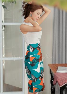 마니에 skirt (2color)