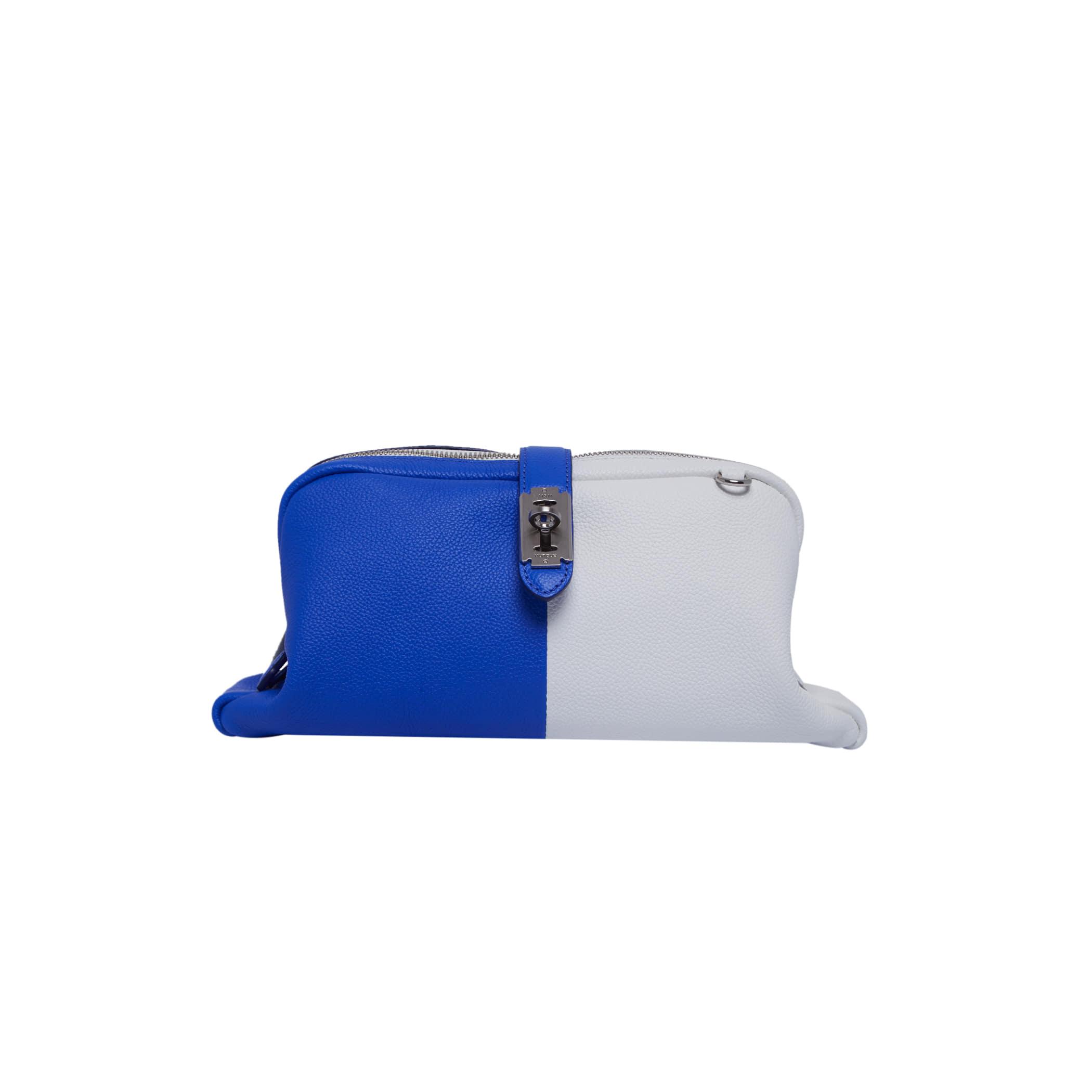 [아울렛] Toque Clutch (토크 클러치) White/Blue