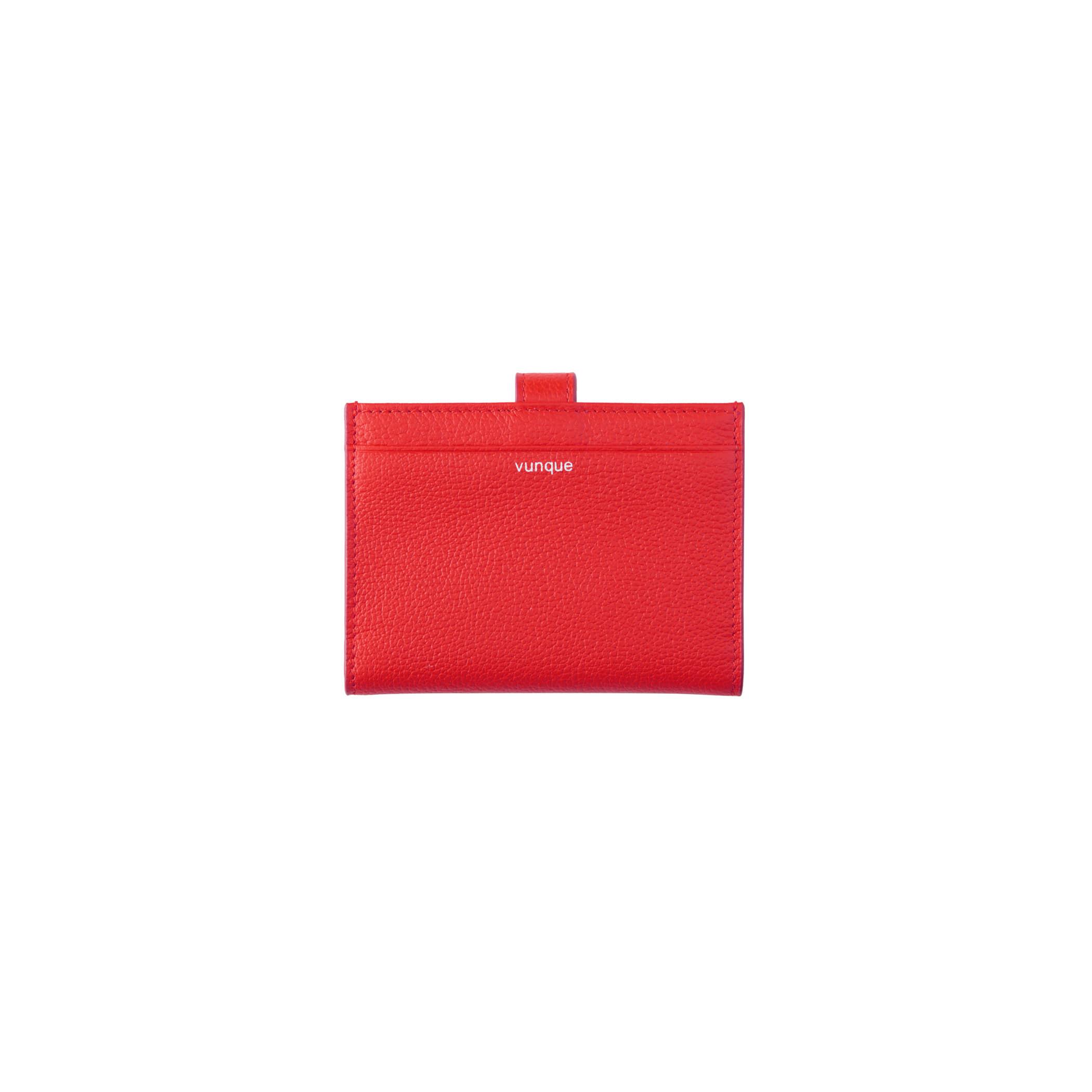 Magpie Card wallet (맥파이 카드지갑) Red