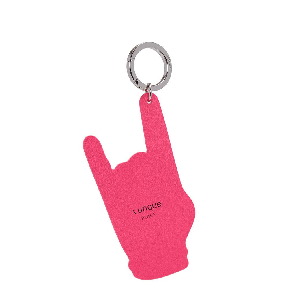 [아울렛] Peace Charm (피스 참) _ Neon pink