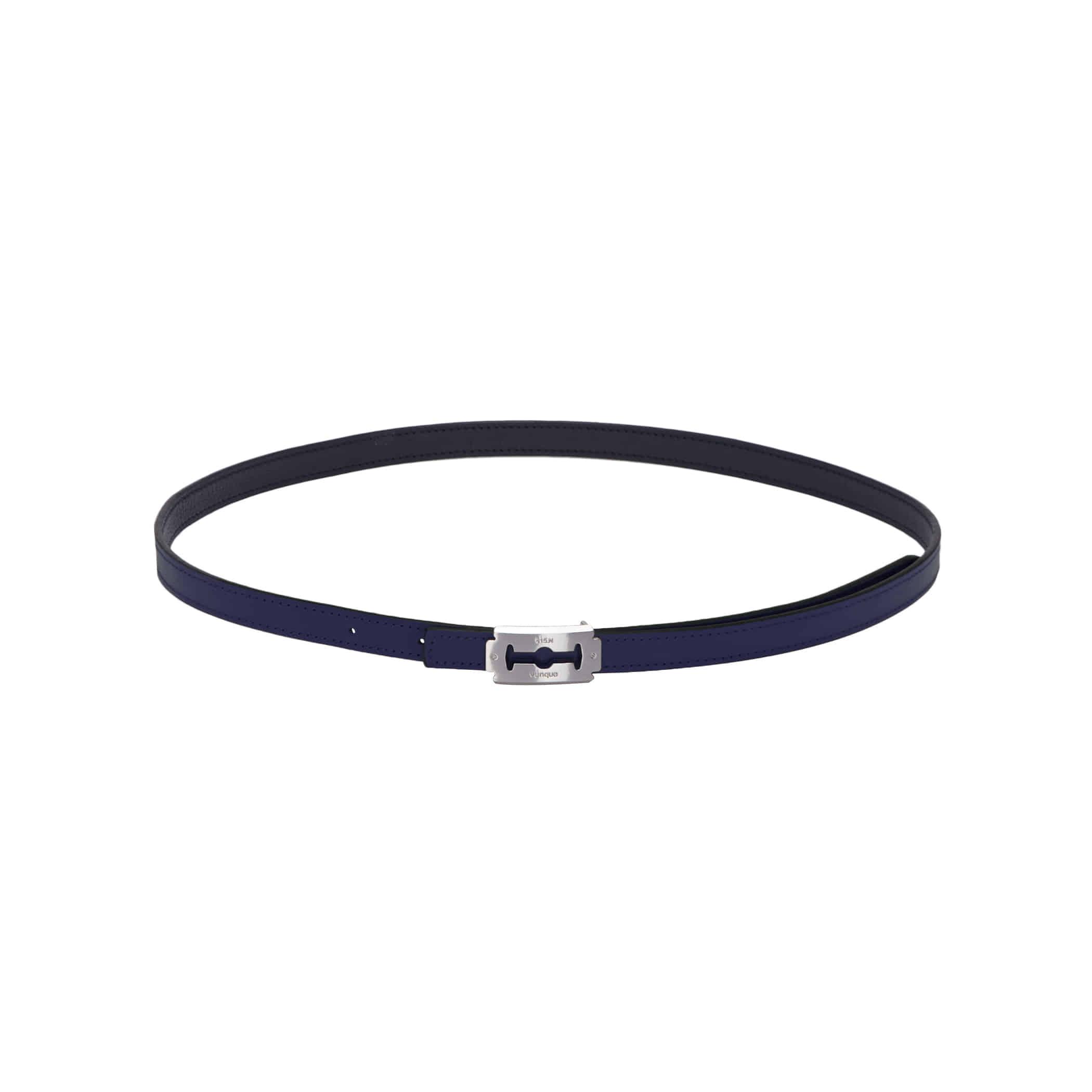 vunque razor belt L (분크 레이저 벨트 라지) Black
