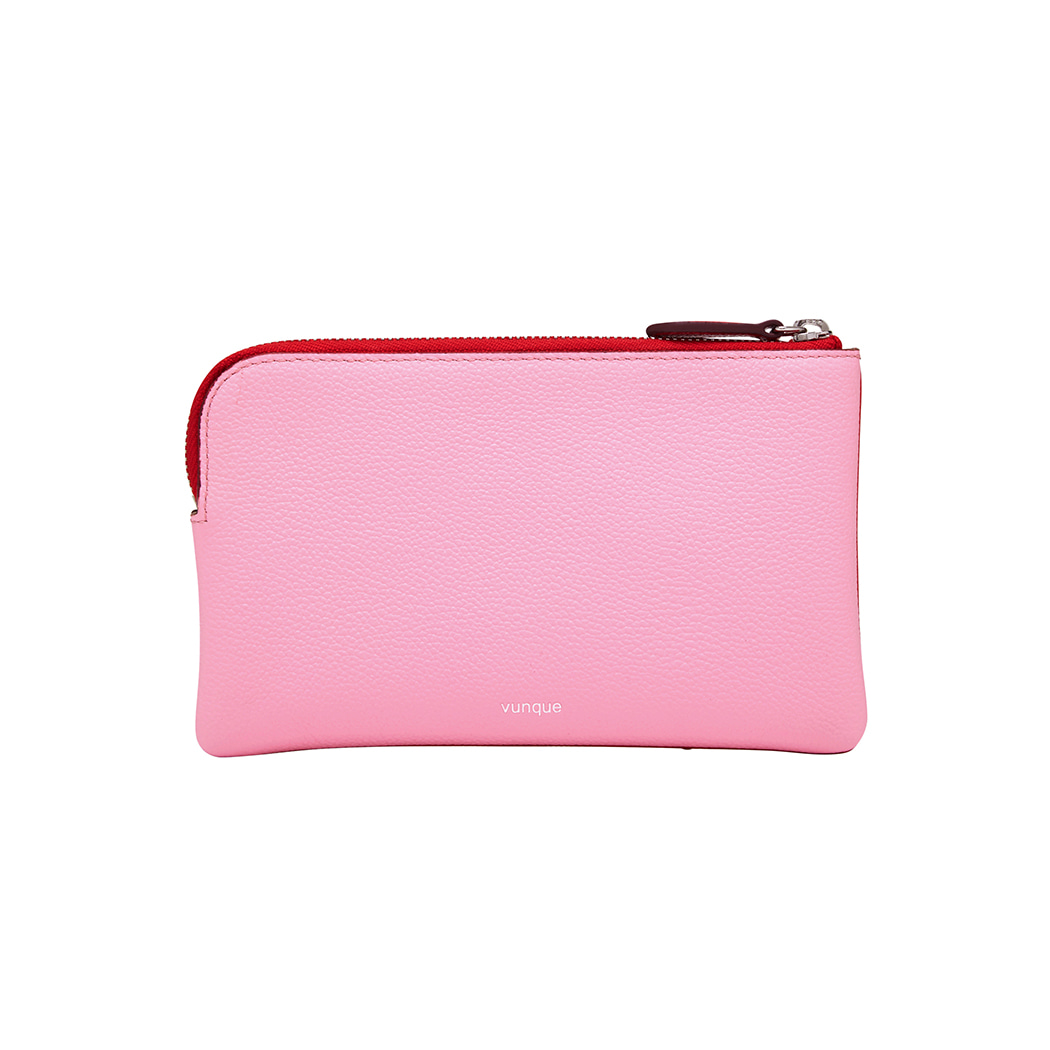 Magpie Zipper Pouch (맥파이 지퍼 파우치) Red