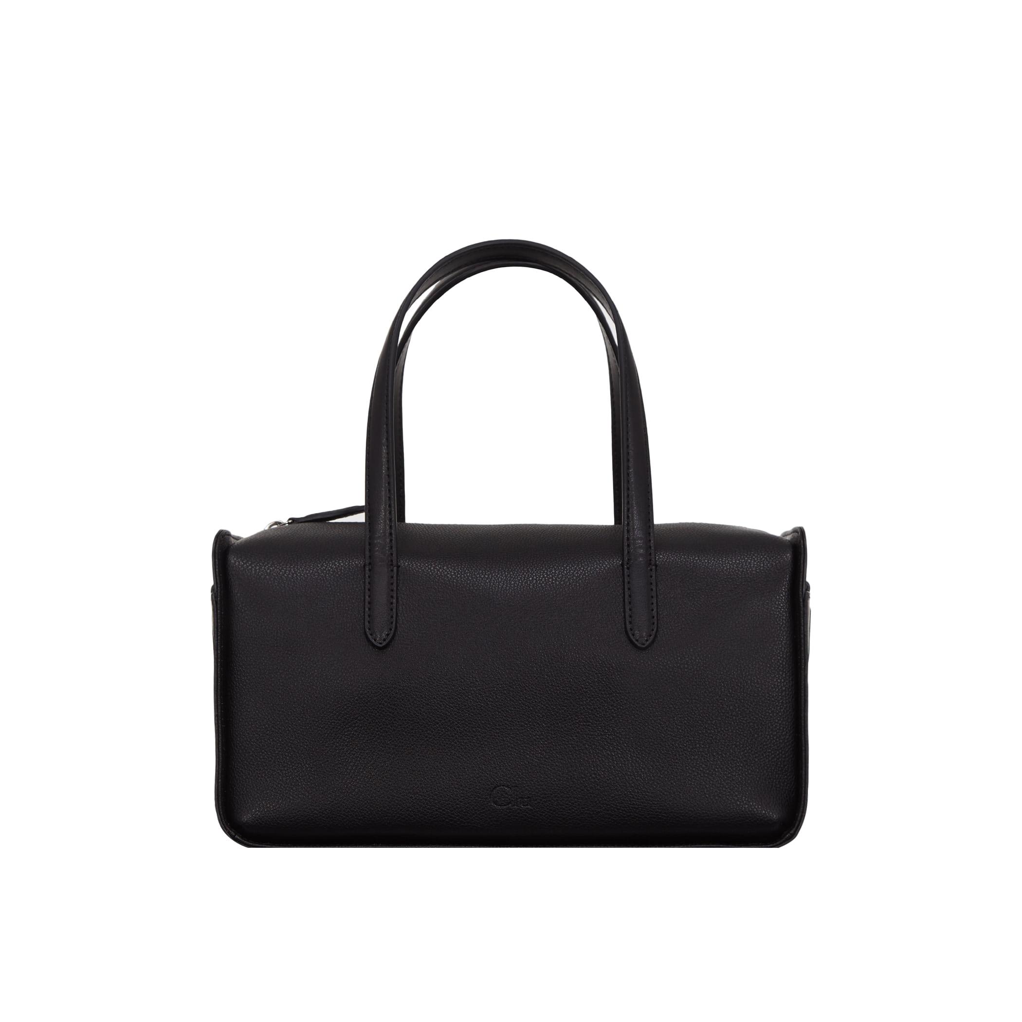 Clu_FLOCK BOSTON BAG IN BLACK