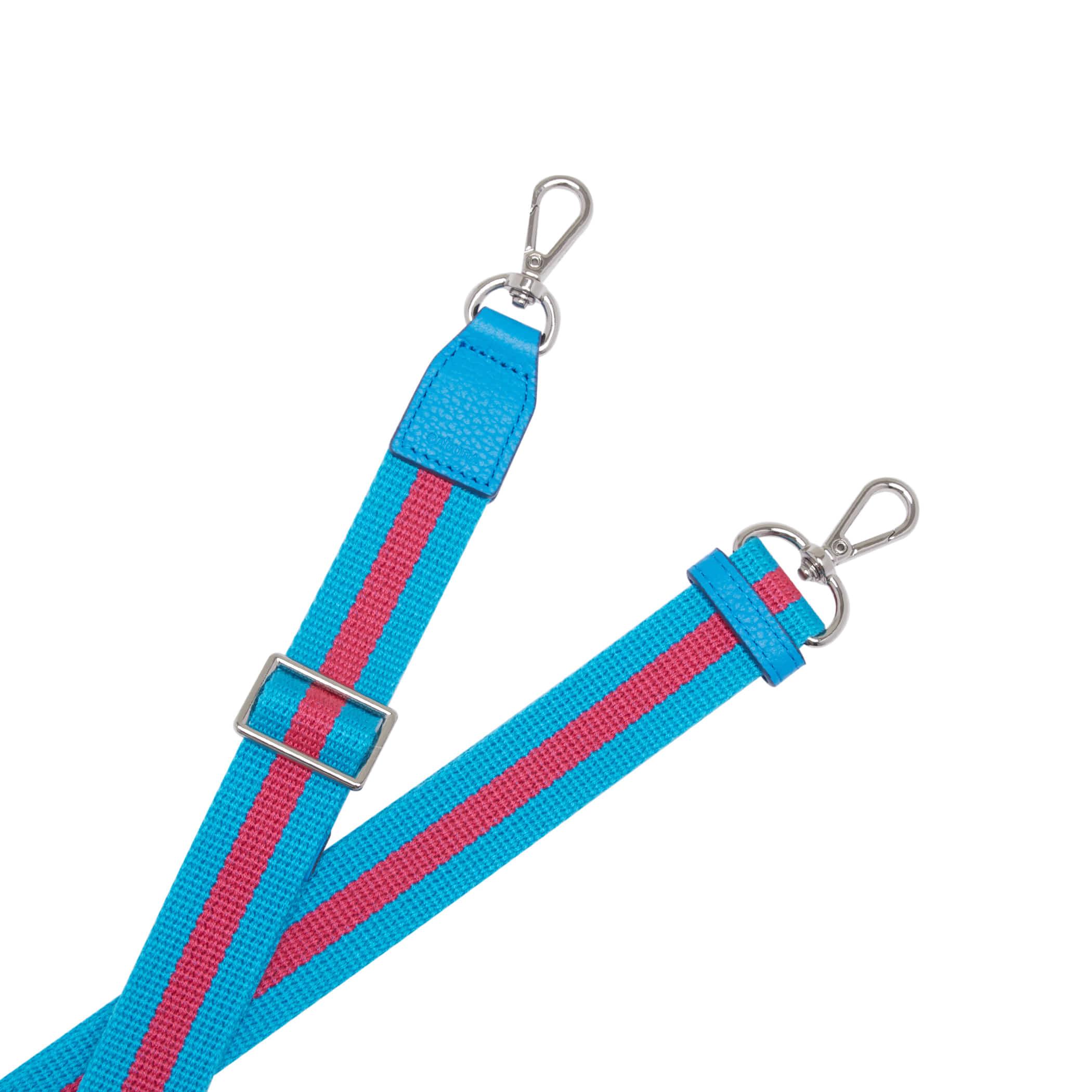 Shoulder Webbing Strap Controller(25mm) Stripe _ Blue
