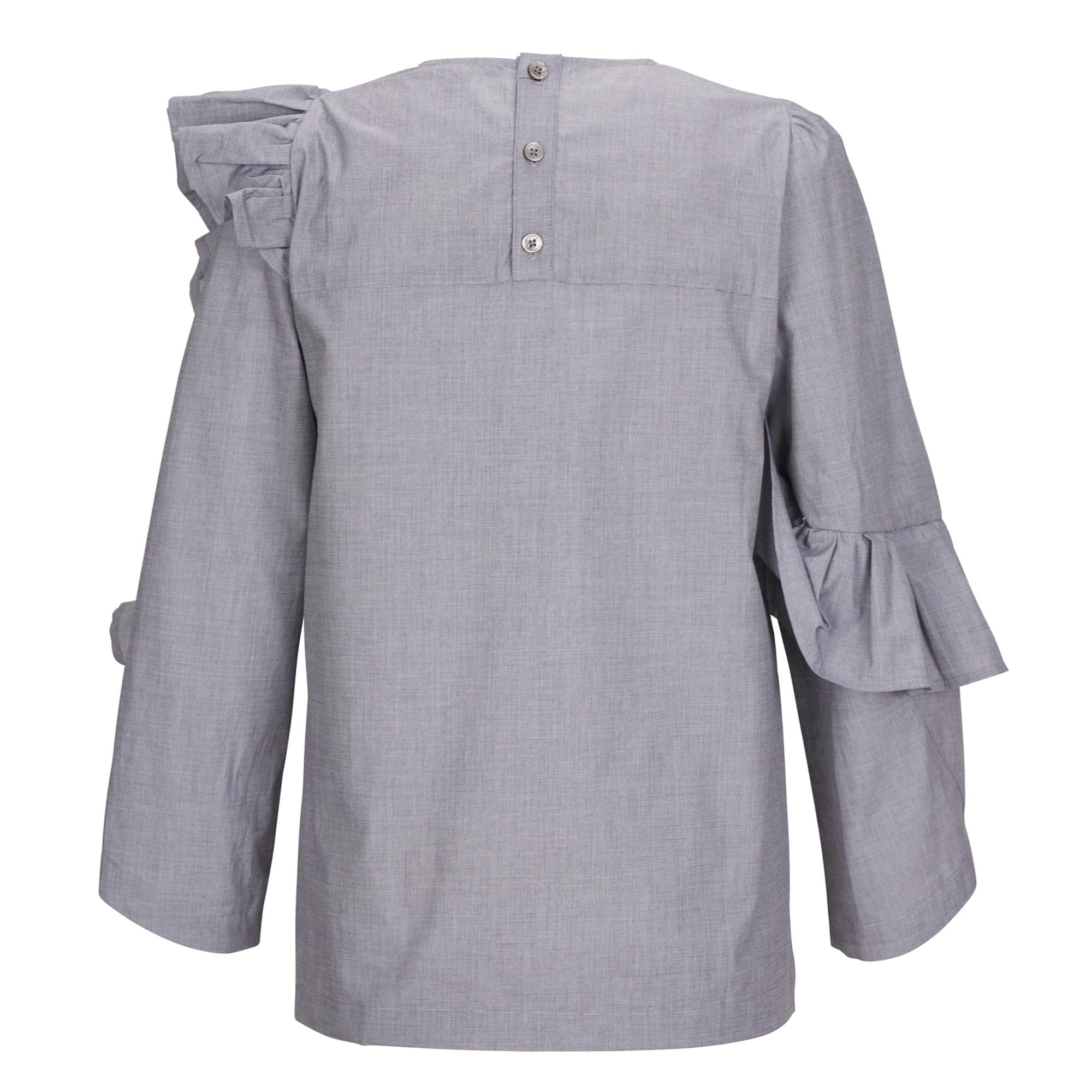 Humming Wave Shirt (허밍 웨이브 셔츠) Grey