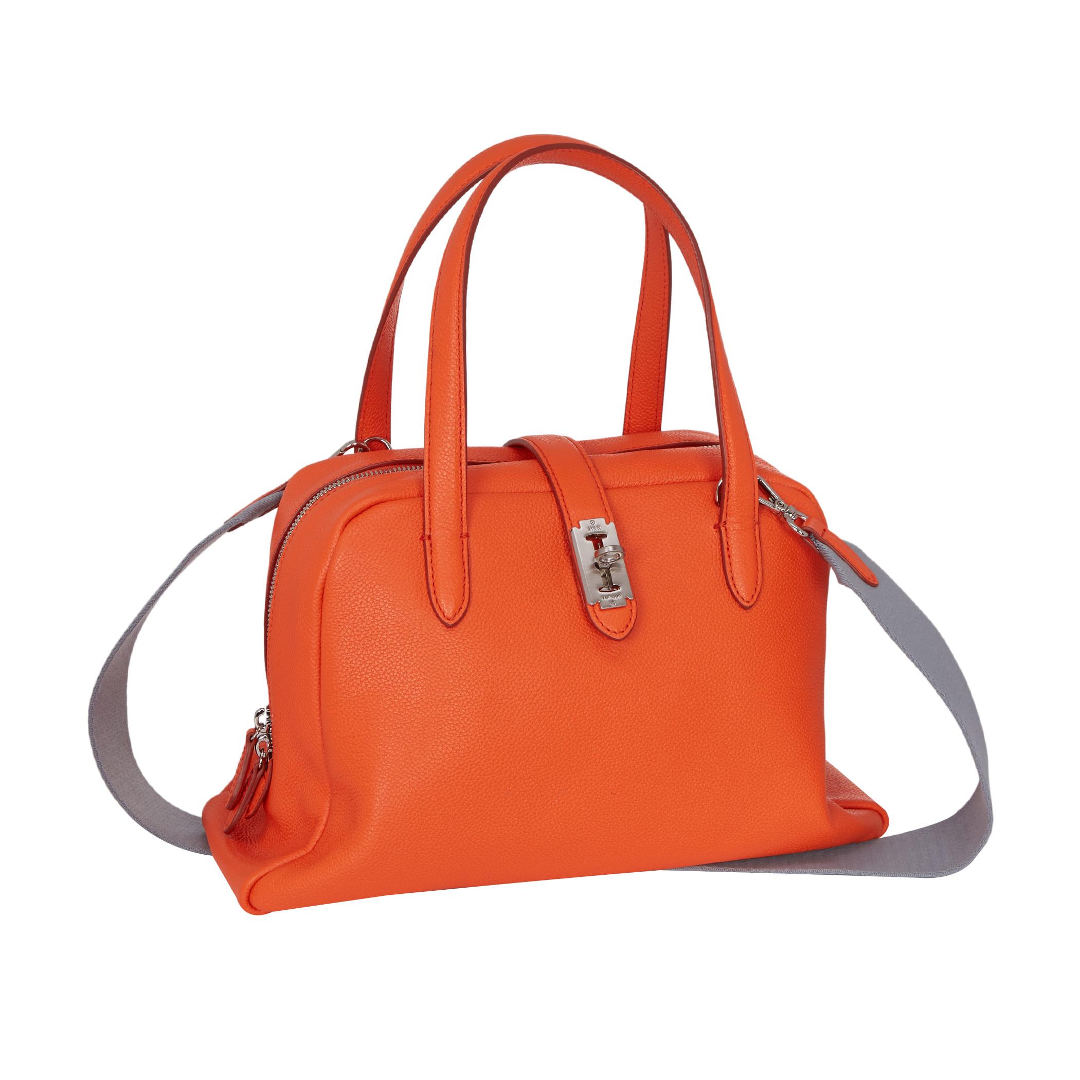 Toque tote M (토크 토트 미듐) Bright orange