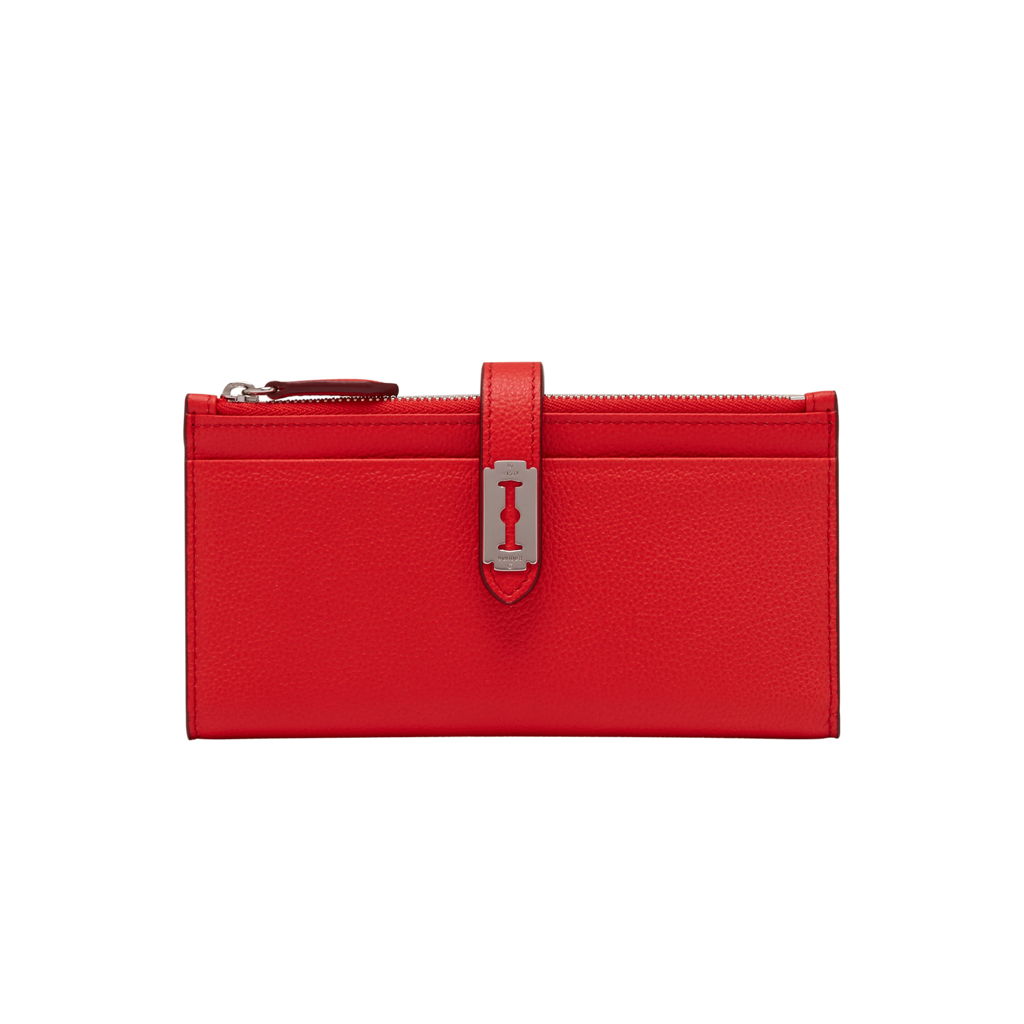 Magpie Long Wallet (맥파이 장지갑) Clear Red