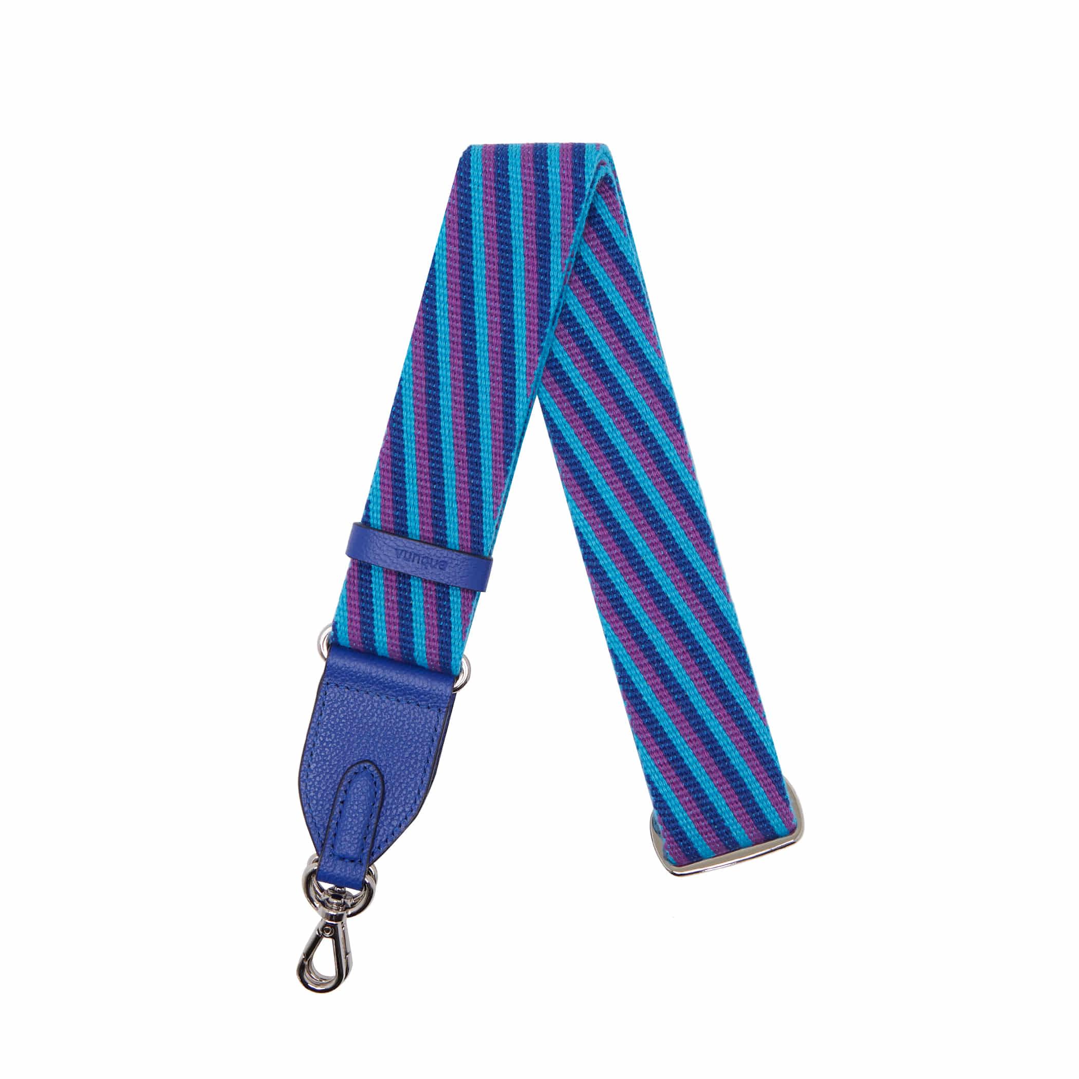 Shoulder Webbing Strap Controller(38mm) Stripe _ Deep blue