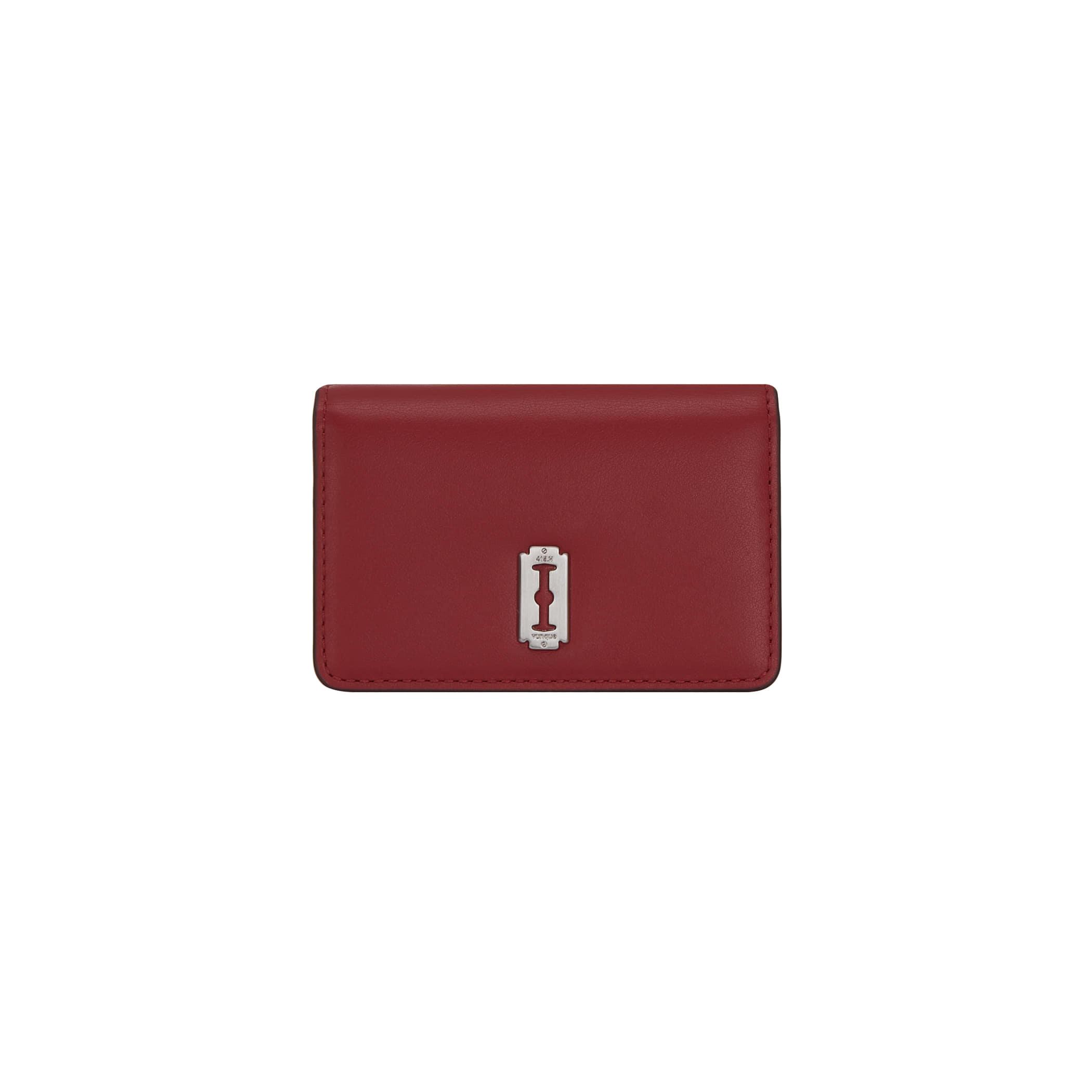 Perfec Essence Card wallet (퍼펙 에센스 카드지갑) Deep red