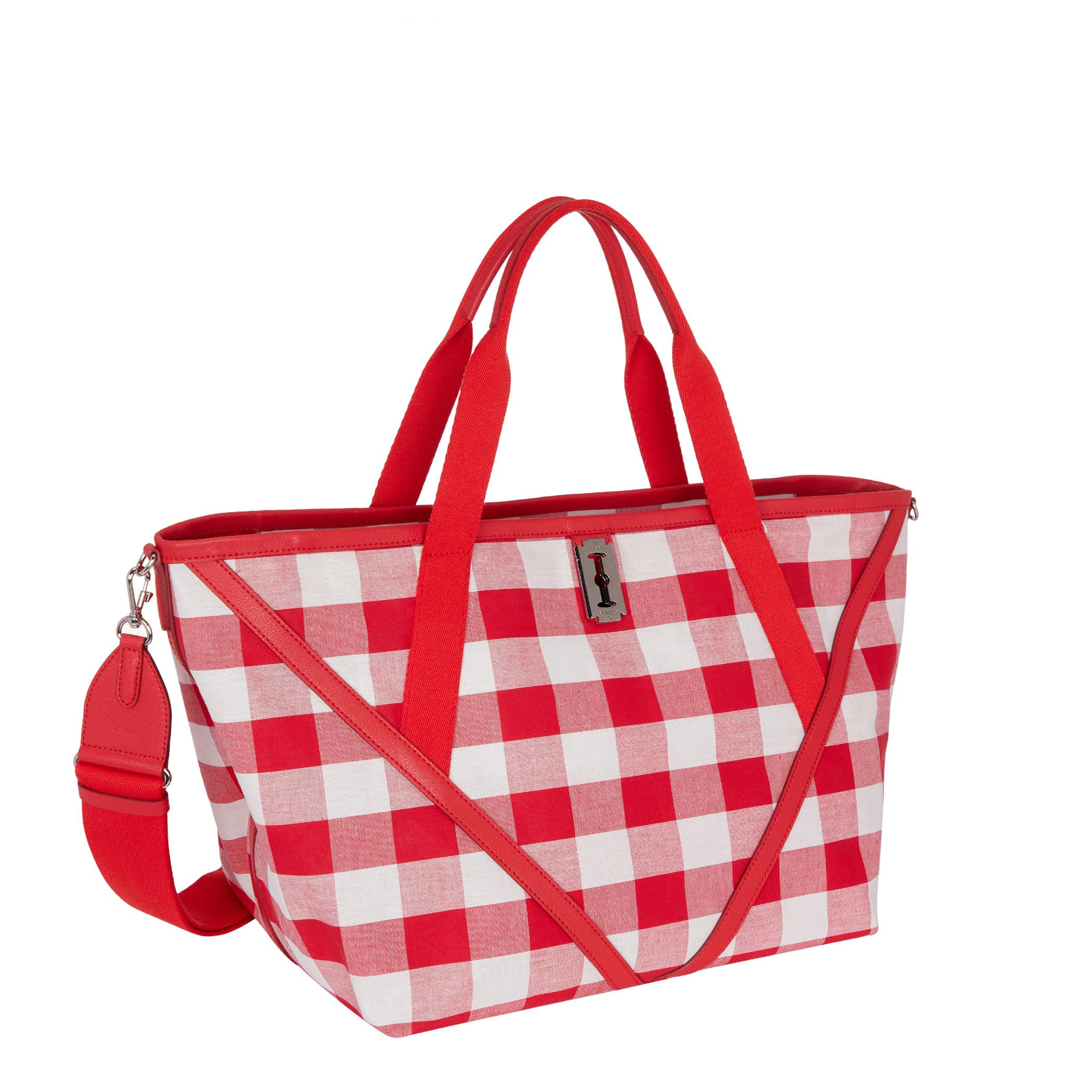 Hey V Tote Picnic Bag (헤이 브이 토트 피크닉 백) Red