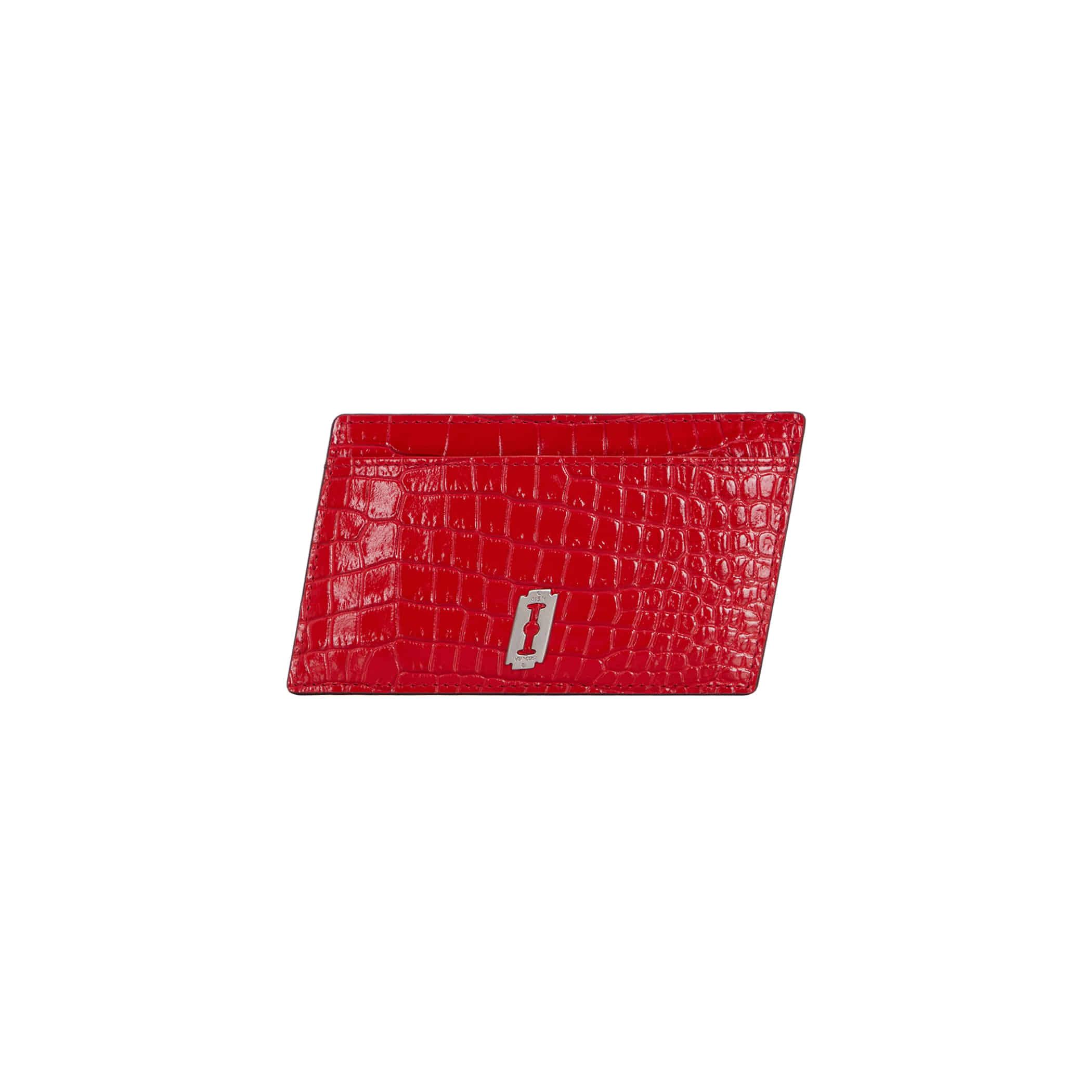 Mercury Square Card Holder (머큐리 스퀘어 카드홀더) Red