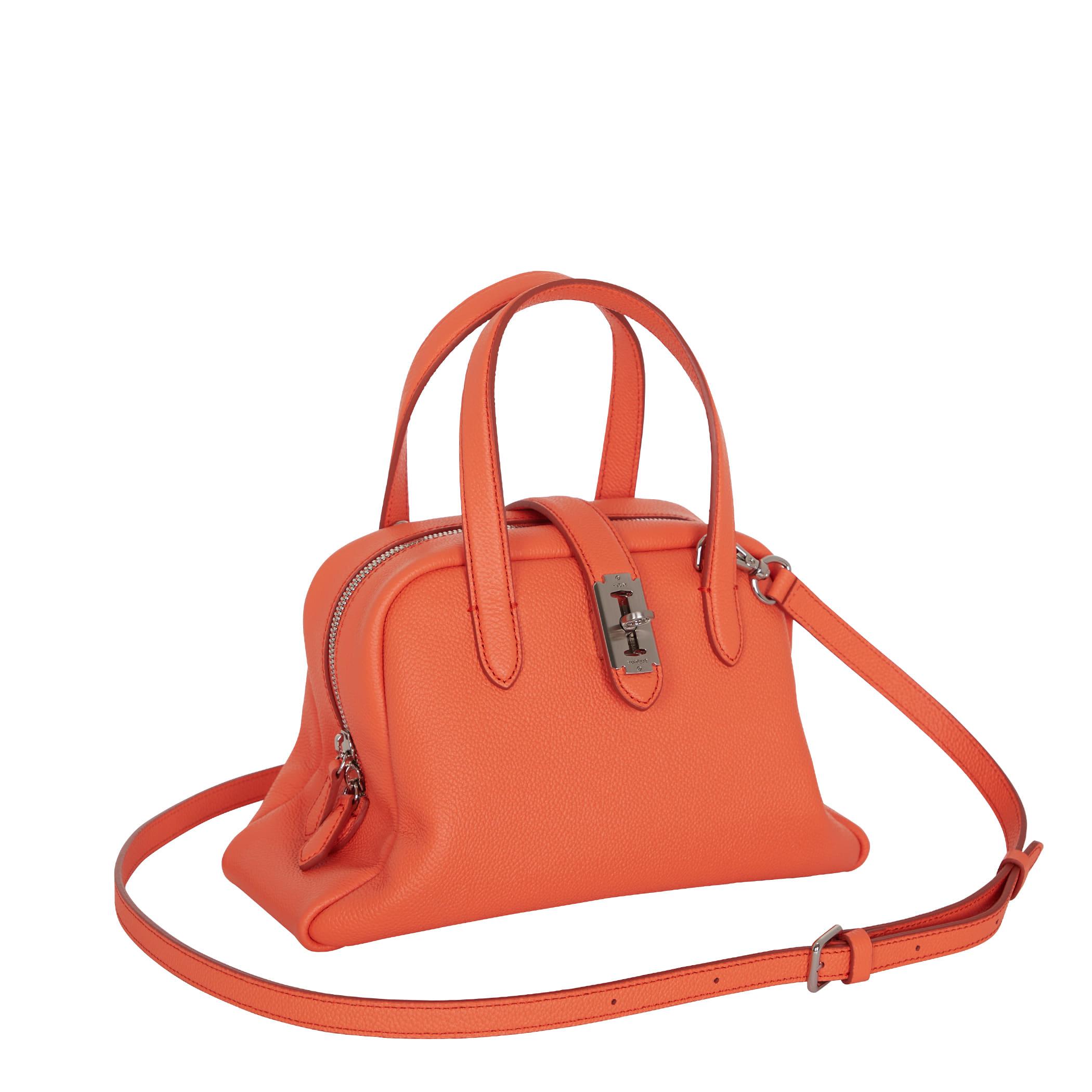 Toque tote S (토크 토트 스몰) Neon orange