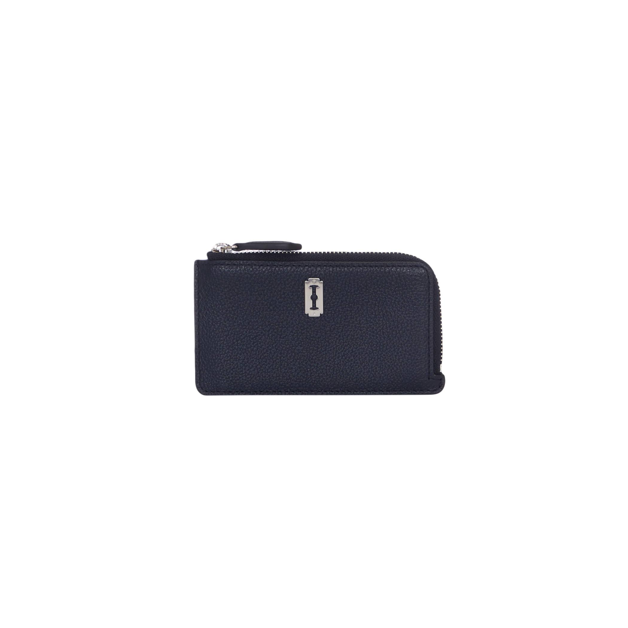 Magpie Zipper Card Wallet (맥파이 지퍼 카드지갑) Haute Navy