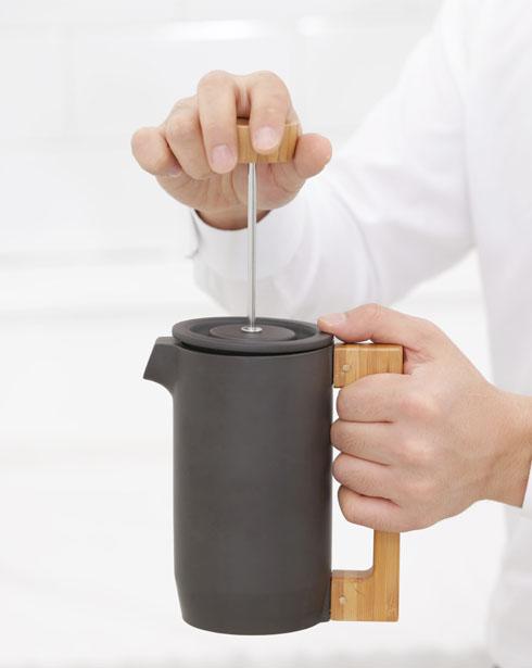 [지아] 퍼플클레이 커피 프레스