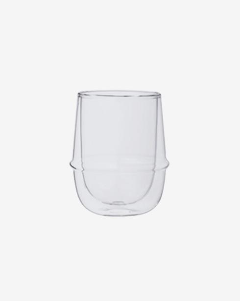 [킨토] 크로노스 이중 유리컵 250ml