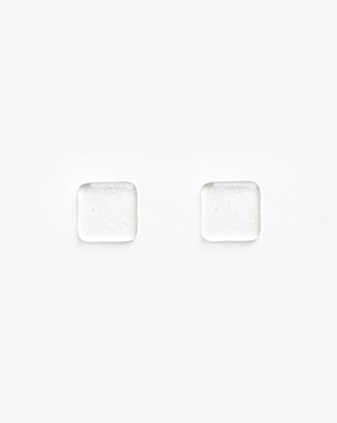 [클리어무드] 버블 수저받침 (미니 사각)