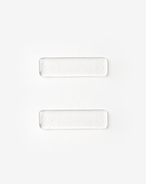 [클리어무드] 버블 수저받침 (롱#2)