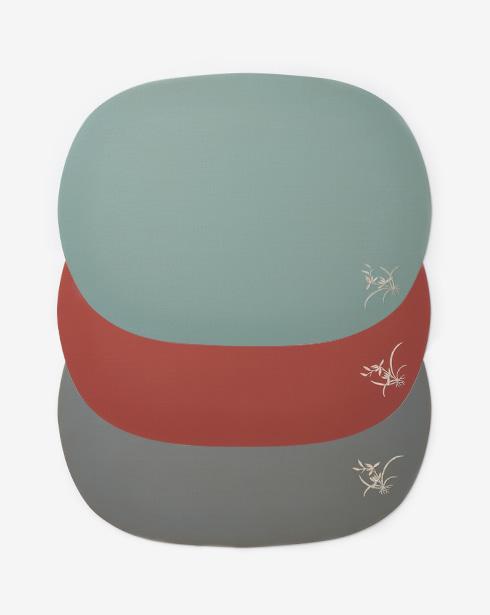 [나은크라프트] 철판 삼베 옻칠 트레이 (3 colors)