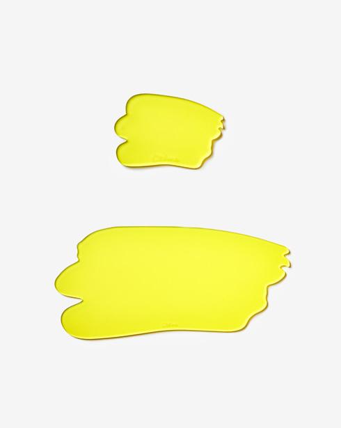 [크렘] 팔레트 테이블 매트 + 수저받침 세트 (레몬 옐로우)