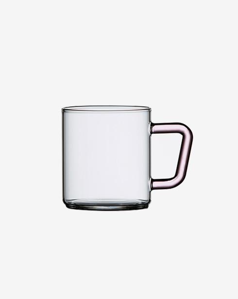[비젼글래스] 컬러머그 305ml (핑크)
