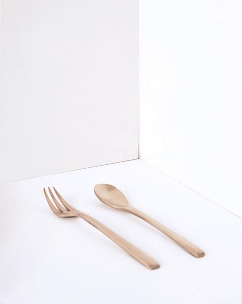 [안성맞춤전통유기] 유기 티스푼&디저트포크