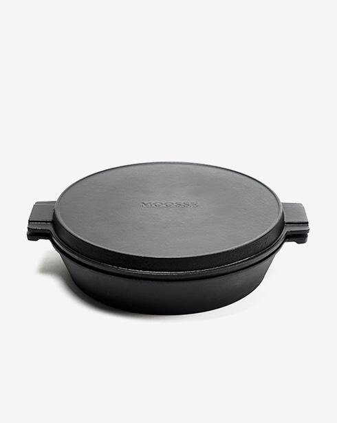 [무쎄] 엠팬&그릴팬 더치오븐 26cm 2종 세트