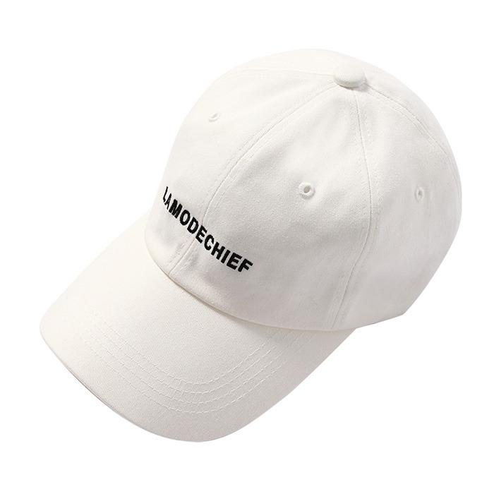 LamodeChiefLAMODE BALL CAP (WHITE)