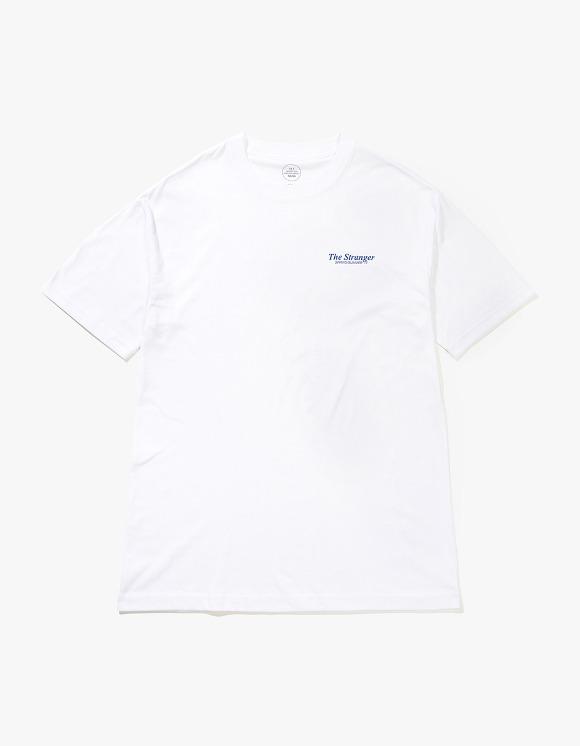 Beasts And Natives Alike The Stranger T-shirts - White/Blue | HEIGHTS. | 하이츠 온라인 스토어