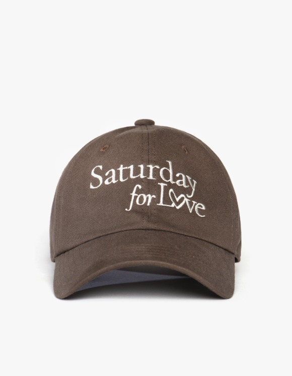 Club Activity C.A x Heights. Saturday for love Cap - Brown | HEIGHTS. | 하이츠 온라인 스토어