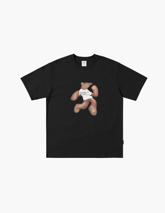 yeseyesee S**t Bear Tee - Black | HEIGHTS. | 하이츠 온라인 스토어