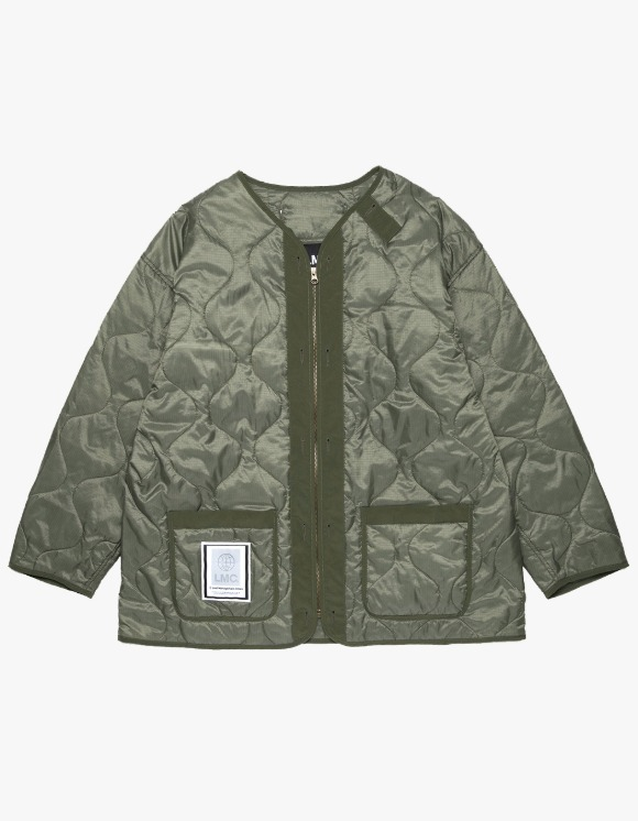 LMC LMC QUILTED LINER JACKET olive | HEIGHTS. | International Store
