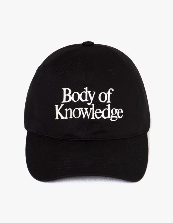 LORES Knowledge Cap - Black | HEIGHTS. | 하이츠 온라인 스토어