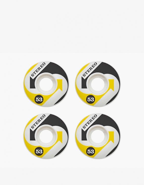 Stereo Skateboards Arrows Wheel - Yellow/Black 53mm | HEIGHTS. | 하이츠 온라인 스토어