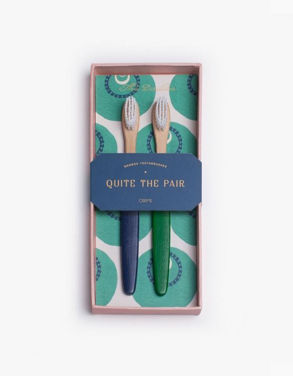 Odeme Navy / Green Tooth Brush Set | HEIGHTS. | 하이츠 온라인 스토어