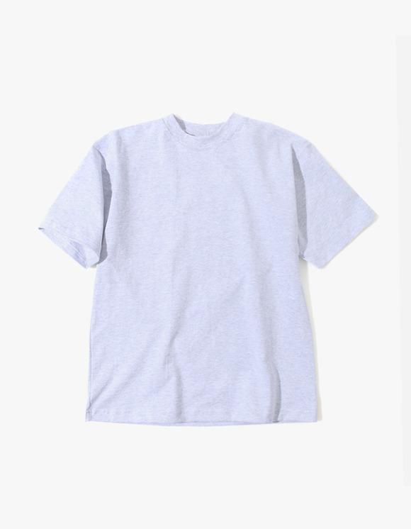Camber Sportswear Heavy Weight 8oz S/S T-Shirt - Grey   HEIGHTS.   International Store