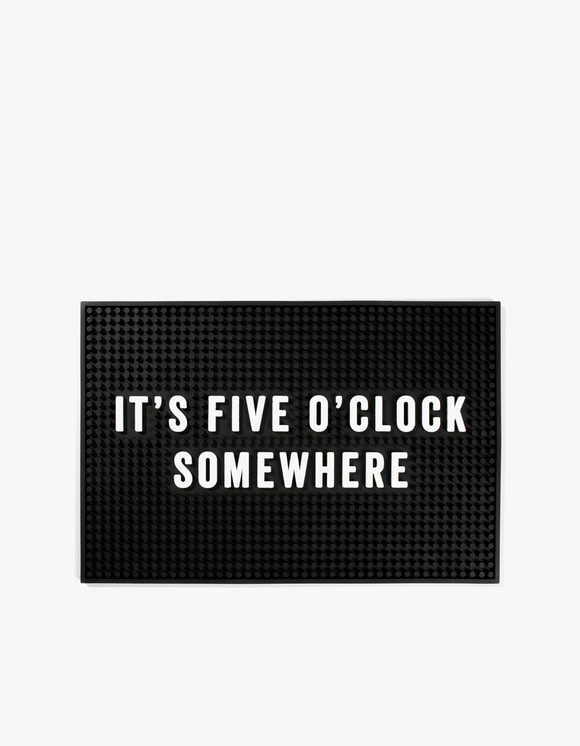 IZOLA NYC Five O'Clock Somewhere Bar Mat | HEIGHTS. | 하이츠 온라인 스토어