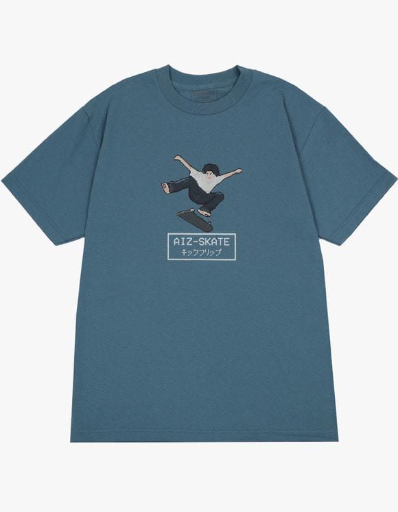 AIZ Skate Kickflip S/S Tee - Blue | HEIGHTS. | International Store