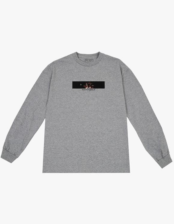 AIZ Skate Retrospect L/S Tee - Grey | HEIGHTS. | International Store