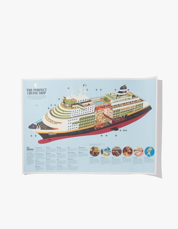 Monocle The Perfect Cruise Ship Poster | HEIGHTS. | 하이츠 온라인 스토어