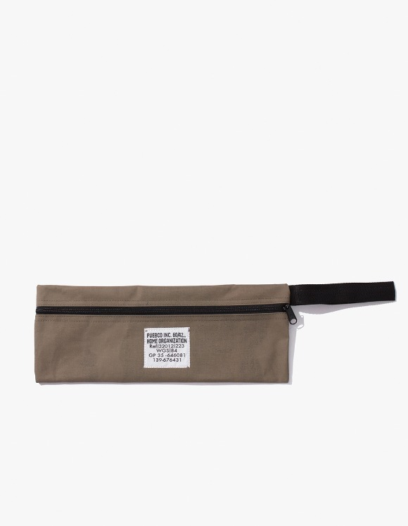 PUEBCO INC. Laminated Fabric Pouch - Long | HEIGHTS. | International Store