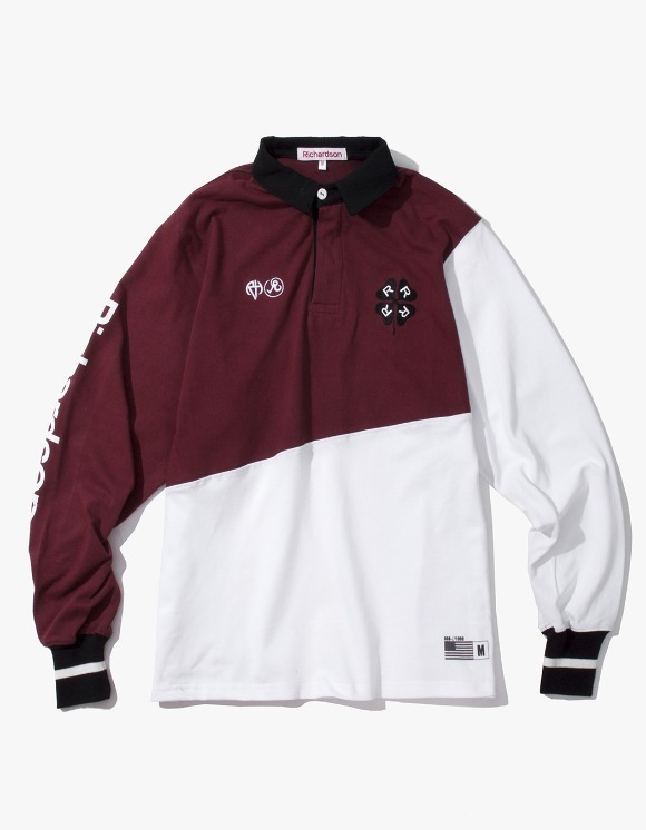 Richardson Rugby Long Sleeve - Oxblood   HEIGHTS.   International Store