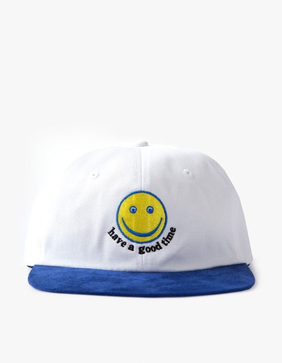 have a good time Smile 6 Panel Cap - White/Blue | HEIGHTS. | 하이츠 온라인 스토어