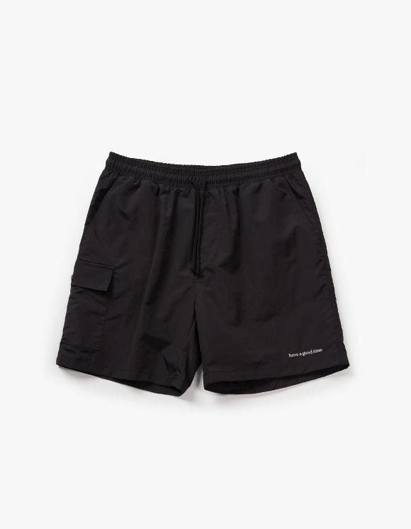 have a good time Aquallum Pocket Shorts - Black | HEIGHTS. | 하이츠 온라인 스토어