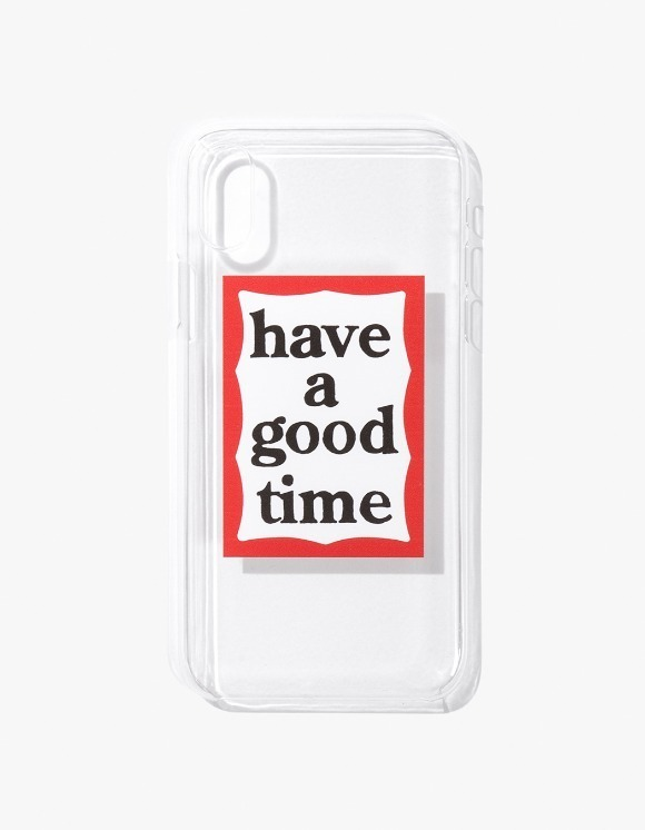 have a good time Frame iPhone Case X - Clear | HEIGHTS. | 하이츠 온라인 스토어
